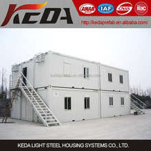 Low Cost Prefab House in China Shipping Container Home Combined to be Office Building for sale