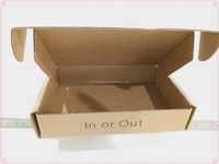 Custom Corrugated small product cardboard packaging box