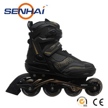 Foshan Inline Skate PU wheels Senhai/Action Inline Roller Skates Shoes Outdoor Sports Flashing Roller Sport Shoes