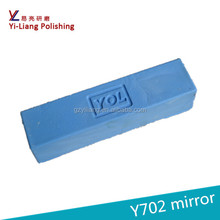 Blue polishing compound for metal surface to be mirror finish