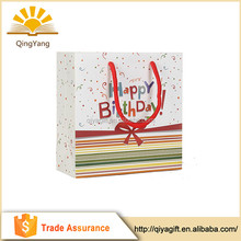 New Products Packaging Paper Shopping Bag Brand Name
