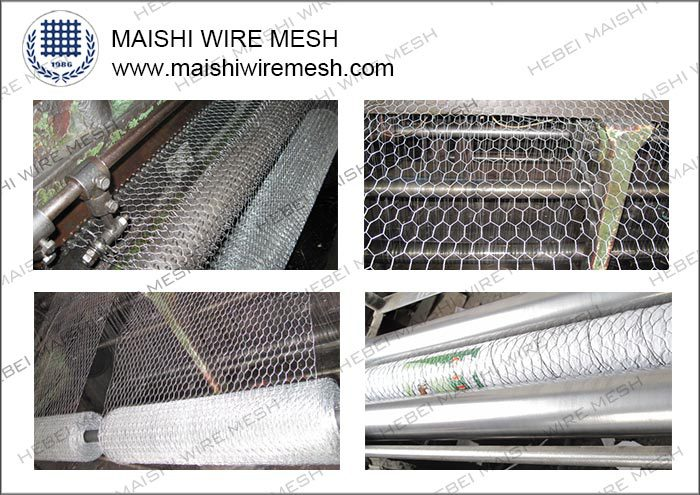 3/4'' *0.9144M*30M hexagonal wire mesh