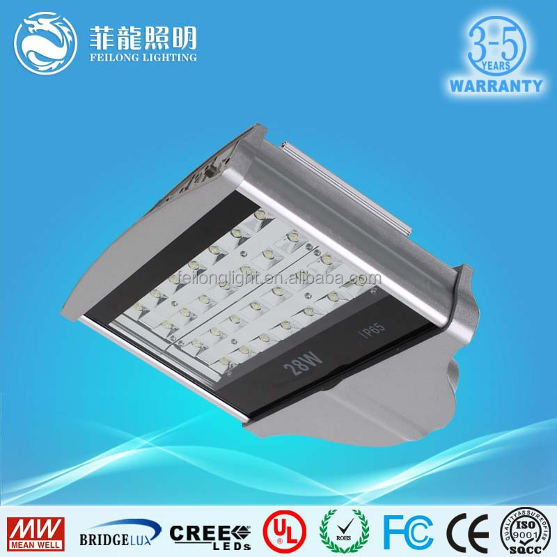 led street light price list 28w bridgelux chip led street light with solar panel battery and controller