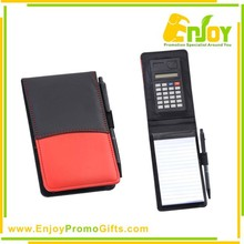 Customized Notepad With Pen and Calculator