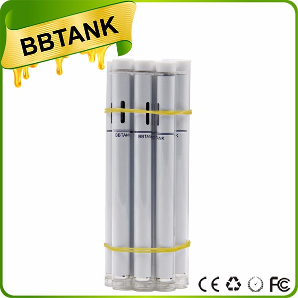 BBtank T1 Disposable Vaporizer Pen 510 Oil Pen cartridge with custom color gold gunmetal