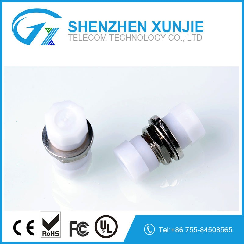 High quality FC/UPC Fiber optic adapter for FC fiber connector types