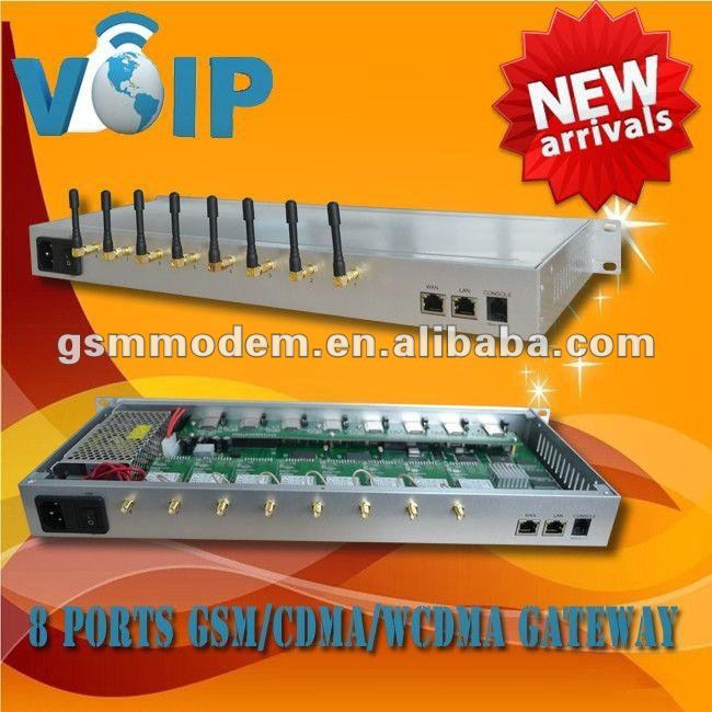 New arrivel ! 8 channels Goip gateway/CDMA gateway/WCDMA with 8 or 32 sim cards,gateway,voip internet telephony gateway
