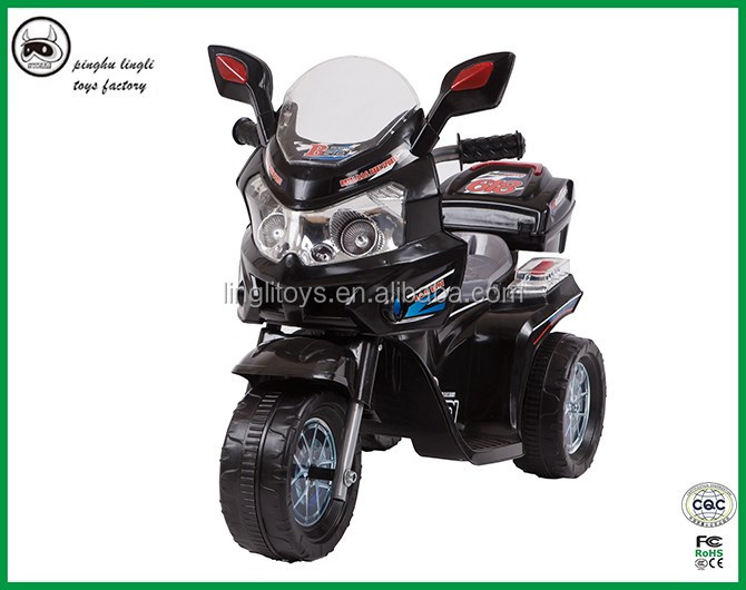LL618 battery three wheels bike for kids with good looking high quality baby ride on motorcycle