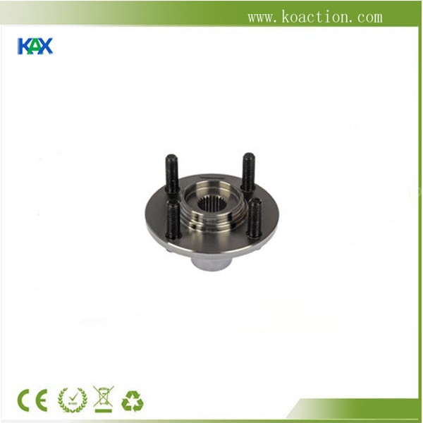 CNC machining billet aluminium/stainless steel rear wheel hub, OEM factory with custom logo lasered