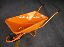 construction metal wheelbarrow