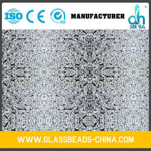 Microhardness 8000kg/cm2 filler glass beads 150#