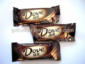 High Quality Plastic Bag Printing for chocolate packaging