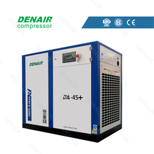 Energy efficient type 300 cfm screw air compressor with direct driven