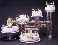 acrylic round cake frame wedding festival display products