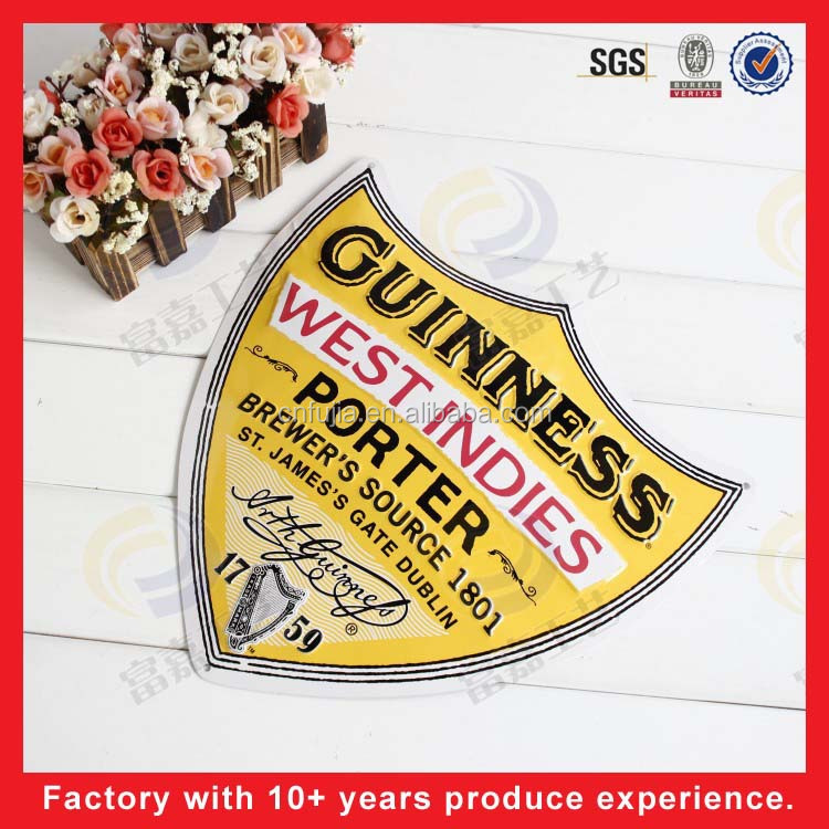 wholesale new design AD metal sign tin sign/ bar decoration/ home decoration