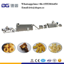 Crispy Corn Puff Snack extruder Machine / Puffed Snack Production Line