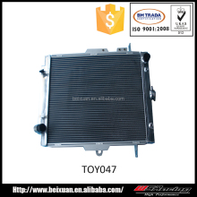 auto parts for toyota landcruiser HZJ78 HZJ79 full aluminium radiator