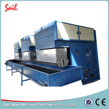 Nonwoven polyester waste fiber bale opening machine waste fiber bale opener