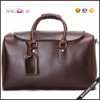 Men Leather Travel Bag, Mens Genuine Leather Tote Bag