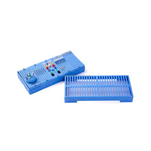 Easyinsmile dental burs stand Box Endo Sterilization Organizer Holder Container Diamond Bur, File Prophy Cup