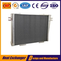 China manufacturer brazing plate fin heat exchanger prices