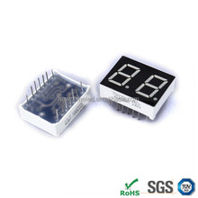 China offering 0.28 inch dual 7 segment display 2 digital led displays from seven segment led display manufacturer