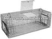 galvanized folding dog cage