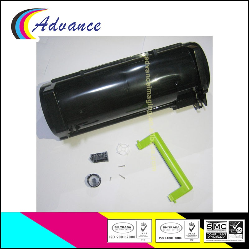 Compatible for Lexmark MX310 MX410 MX510 MX511 MX610 MX611 Empty Toner Cartridge