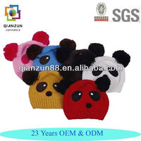 High Quality Warm Wool Knit Crochet Hat Cute Baby Beanie Hats