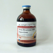 China veterinary drugs Iron Dextran 10% Injection weight gain drugs