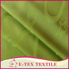 China Manufacture High quality Blackout 100% polyester satin print fabric for dress