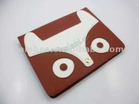 Stand PU Leather Smart Cover Case with Cute Fox for ipad 2 3