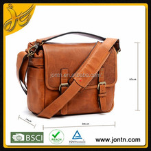 Designer vintage dslr leather camera bag