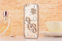 DIY Bling Crystal Back Cover for iphone 5/5S, Hard Skin Phone Case Cover for iPhone 5, Various Fashion Clear Cover for iphone5