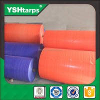 colorful waterproof pe tarpaulin fabric