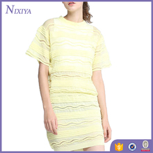 Latest Fashion Hollow Dress Designs Wholesale Women Clothing