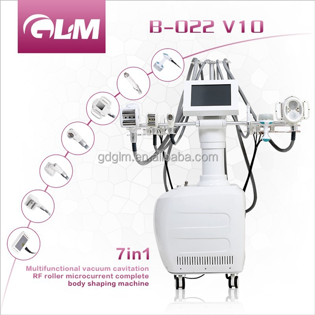 GZ GLM ls650 laser cavitation / 40k cavitation body shaping machine for salon use