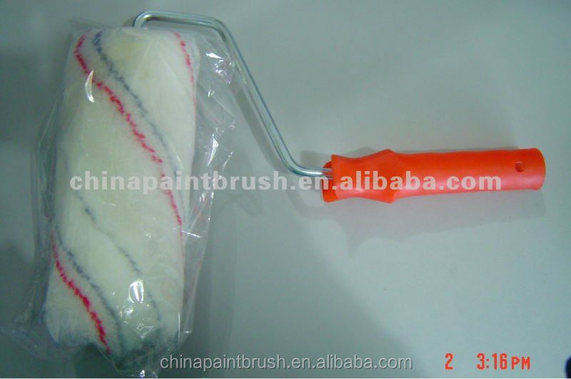 "Professional thread roller 2"" polyester decorative textured paint roller"