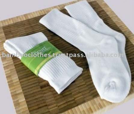 Bamboo 3/4 Crew Athletic Socks
