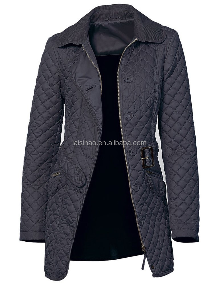 Spring and autuman new woman long overcoat jackets and coats