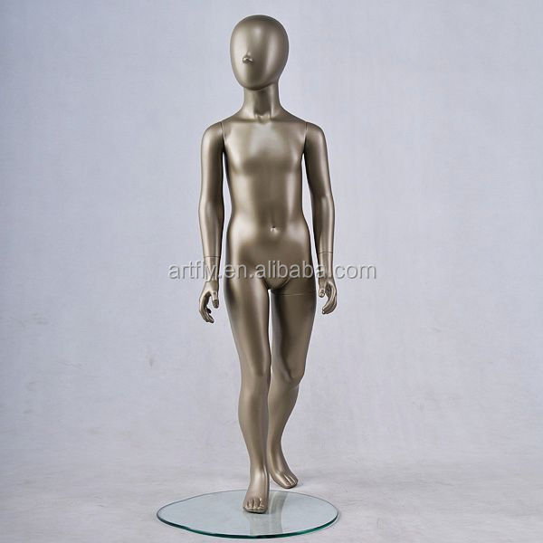 chocolate skin full body child mannequin