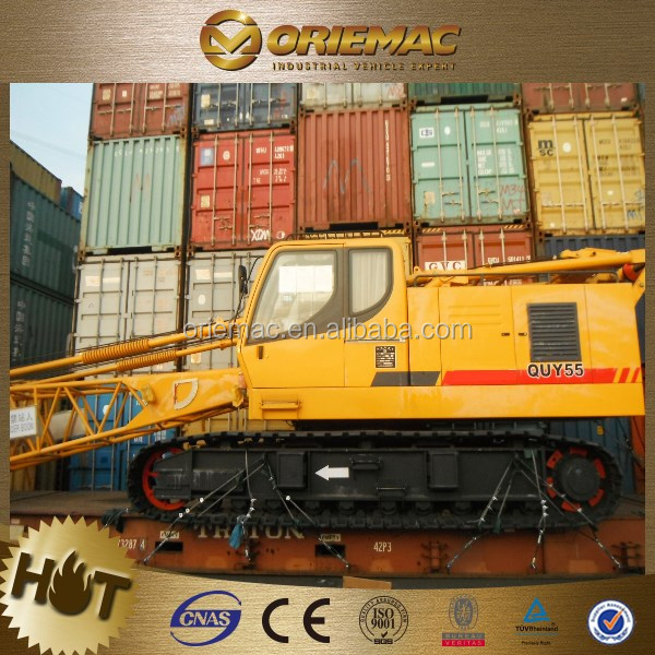manufacturer 75ton good different types of crawler crane QUY75