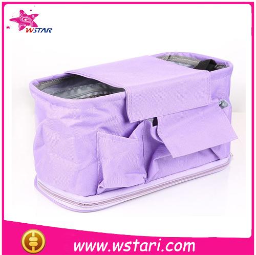 deluxe purple stroller organizer baby diaper bag stroller organizer stroller travel carry bag. Black Bedroom Furniture Sets. Home Design Ideas
