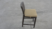 Garden furniture rattan wicker outdoor bar stools
