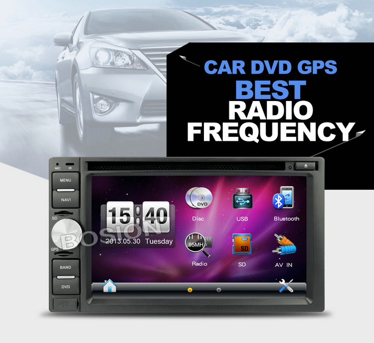 In-dash Entertainment GPS Navigation System Double Din DVD Stereo Car Audio for Opel Astra