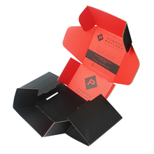 Hot!!! Wholesale Matte Black Corrugated Paper Mailing Box, Custom Logo Printed Cardboard Shipping 3 Ply Carton Boxes