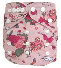 New Cute Reusable AIO Cotton Baby Diapers Best Selling Imports
