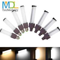 high power dimmable led plug bulbs g24 13w/11w/9w/7w/5w , g24 led pl lamp ,led plug light