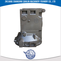 Grey iron & ductile iron cast Custom HT200 WDT400 wdt series oil machine bridge shell c45 casting steel