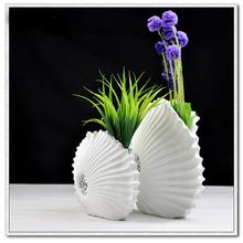 2016 new product home decor resin white vases - Home Decor Vases